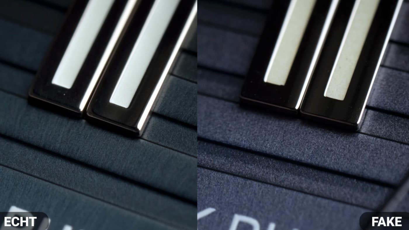 Doppelindex Patek philippe Nautilus 5711 Fake VS Real  Vergleich