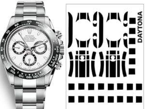 Rolex-Daytona-Schutzfolie