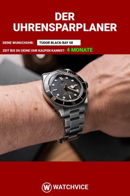 Der WATCHVICE Uhrensparplaner