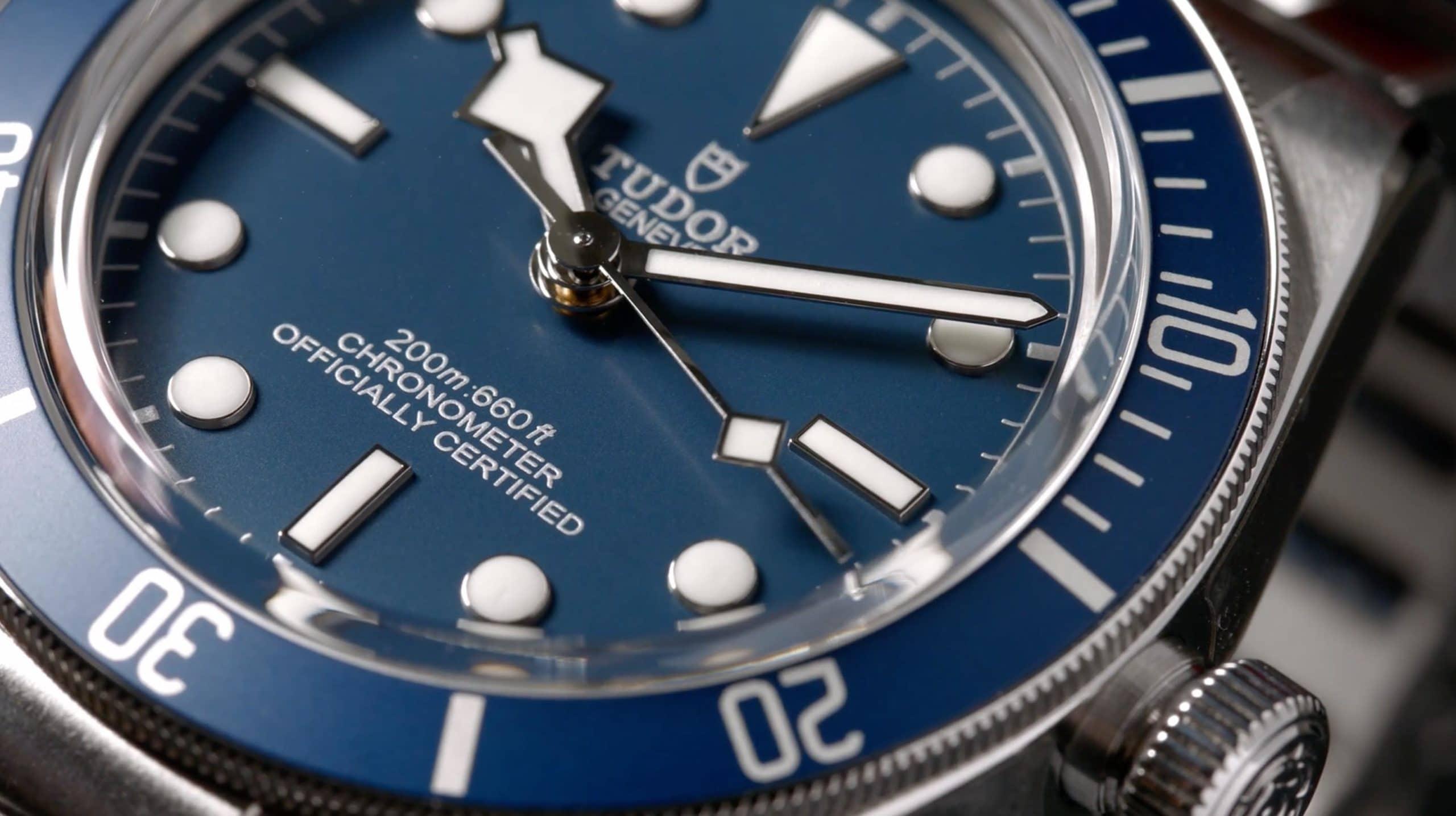 Tudor Black Bay 58 79030B blaues Zifferblatt