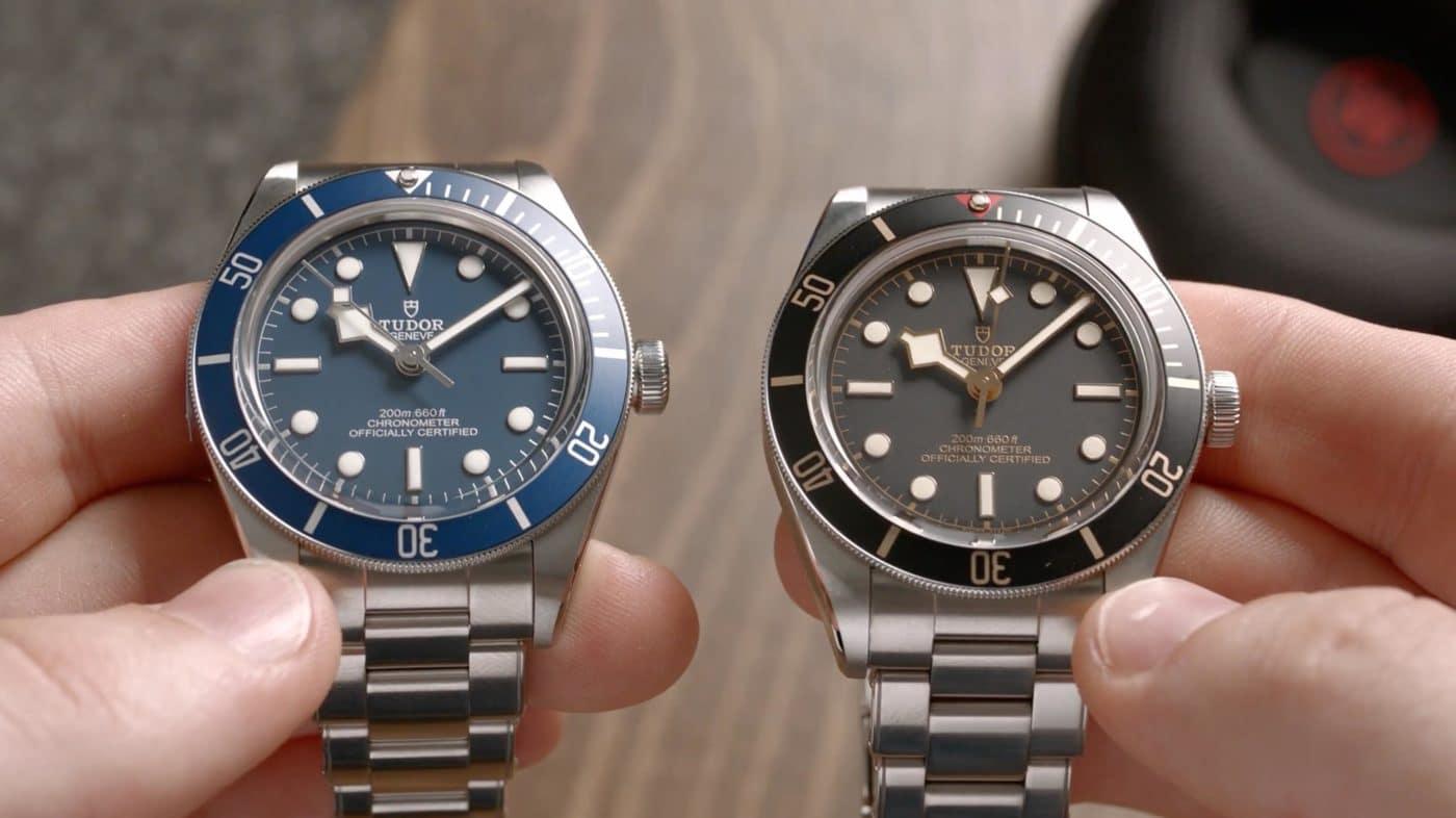 Tudor-Black-Bay-58-79030B-im-Vergleich-zur-79030N