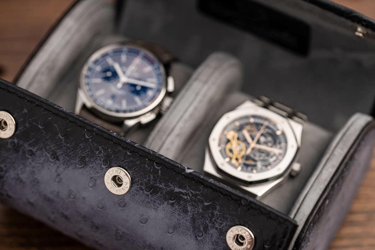 Uhrenrollen Leder Kollektion2020